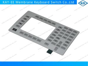 Multi-Keys Dome Embossed Membrane Keypad Switch with Big Transparent Clear Window pictures & photos