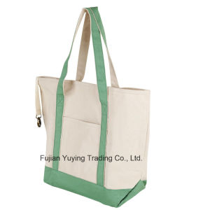Customized Promotional Reusable Shopping Tote Cotton Bag pictures & photos
