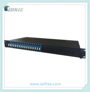 PLC Splitter 2*32 Type in 1u 19′ Rack Mount pictures & photos