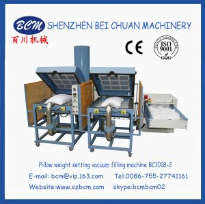 Pillow Weight Setting Vacuum Filling Machine pictures & photos