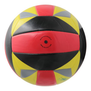 Soft PVC Machine Stitched Volleyball for Promotion pictures & photos