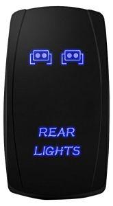 Laser LED Light Bar Rocker Switch on-off LED Light 20A 12V pictures & photos