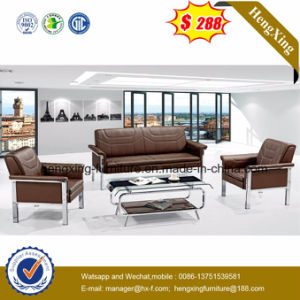Best Selling Italy Modern Metal Legs Genuine Leather Sofa (HX-CS075) pictures & photos
