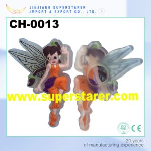 Cartoon Lovely Girls 3D Rubber Shoe Charms EVA Clogs Shoe Decorations Charms pictures & photos