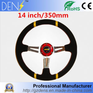Racing Sport 14 Inch 350mm PVC Leather Mono Steering Wheel pictures & photos
