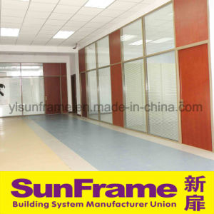 Aluminium Partition Wall with Veneered Board pictures & photos