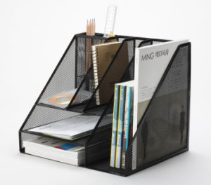 Office Desk Organization Supplies/ Metal Mesh Stationery Organizer/ Office Desk Accessories pictures & photos