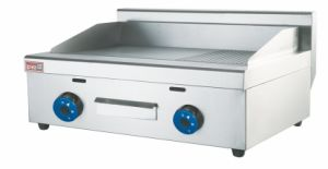 Commercial Hight Quality New Desktop Gas Griddle Grill with Low Cost pictures & photos
