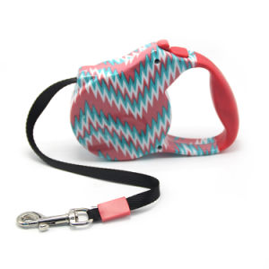 Custom Logo Printed Retractable Dog Leash pictures & photos