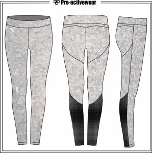 Women Fitness Wear Pants Custom Wholesale High Waist Swamless Leggings pictures & photos