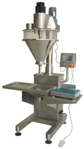 Filling Machine Pneumatic Stainless Steel Semi-Aut for Powder Filling pictures & photos