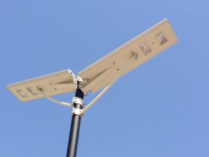 LiFePO4 Battery Integrated Solar Smart LED Street Light All in One Dusk to Dawn pictures & photos