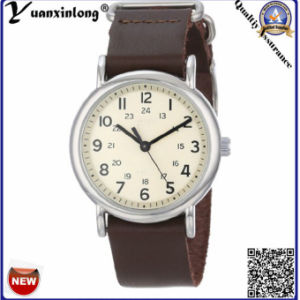 Yxl-130 Promotional New Style Watches Mens Genuine Leather Quartz Men Watches Casual Sport Wristwatch Clock pictures & photos