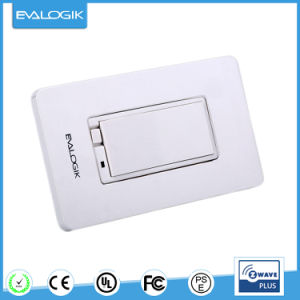 Wall Mounted Dimmer Switch Z-Wave Wireless Smart Lighting Control (ZW31) pictures & photos