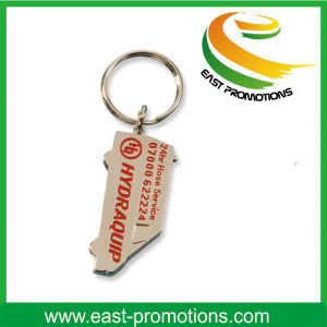 Custom Car Shaped Metal Keychain pictures & photos