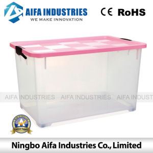 Plastic Storage Case Mould with Wheels pictures & photos