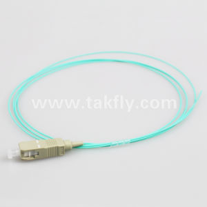 Sc 1.5m LSZH Om3 Fiber Optic Pigtail pictures & photos