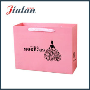 Wholesales Black Logo Printed Custom Kraft Paper Bag pictures & photos