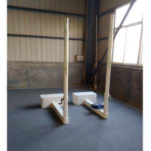 Adjustable 2000-2450mm Movable Volleyball Post Pole for Sale pictures & photos
