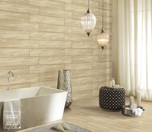 Good Quality Polished Wood Look Glazed Tile pictures & photos