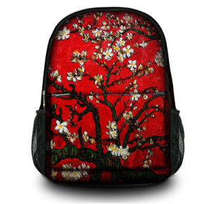 Custom Fashion Printed Canvas Satchel Bag Daypack Backpack for School, Hiking, Travelling pictures & photos