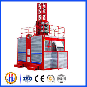 High Quality Single Cage Construction Hoist / Construction Elevator pictures & photos