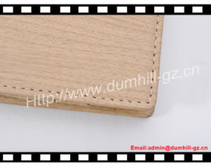 Imitate Wooden PU Passport Cover, Passport Holder RFID Passport Wallet pictures & photos