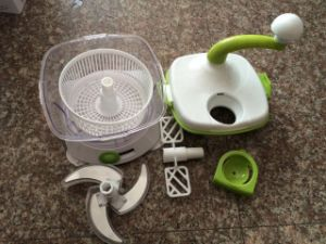 Multifunctional Manual Swift Chopper Vegetable Spiral Slicer pictures & photos