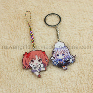 UV Printing Acrylic Cartoon Character Keychain, Acrylic Key Chain, Custom Acrylic Keyring pictures & photos