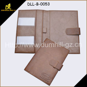 Popular Leather Document Case Organiser with Snap Closure pictures & photos