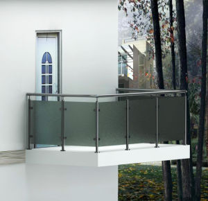 Square Stainless Steel Railing Balustrade / Stair Parts pictures & photos