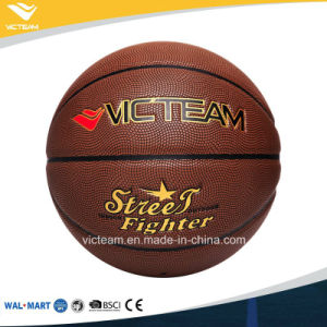 All-Weather Typical Sponge PVC Pebbled Basketball pictures & photos