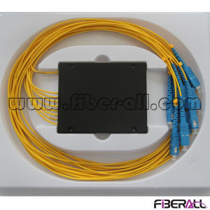 1X8 Fiber Optical PLC Splitter with ABS Box pictures & photos