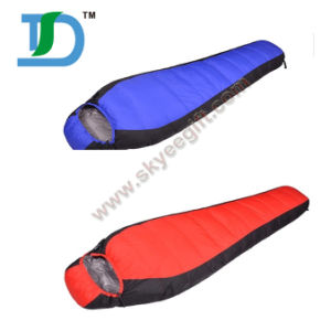 190t Polyester Sleeping Bag with Carry Bag pictures & photos