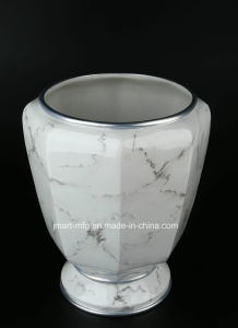 Marble Finish Polyresin Bathroom Accessory pictures & photos