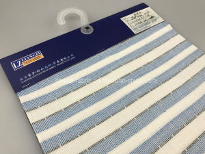Cotton Poly Yarn Dyed Stripe Fabric with Xopt-Dry and Freefit Lz8184 pictures & photos