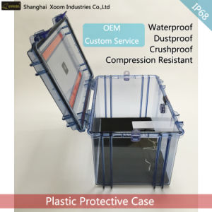 Waterproof Clear Equipment Safety Case Outdoor Safe Storage Case