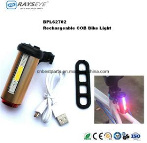 3 Color COB Rechargeable Bike Tail Light pictures & photos