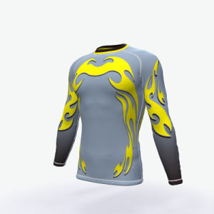 Custom Bjj Printed Rash Guard, Rashguard, Compression Wear pictures & photos