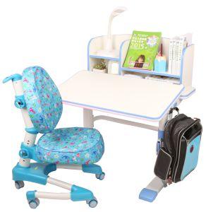 Ergonomic Crank Adjustable Tilting Children Table with Metal Legs Hya-09 pictures & photos