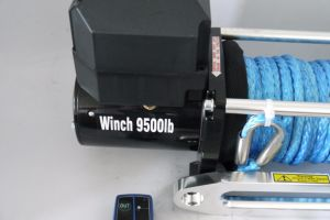 SUV 4X4 12V/24VDC off-Road Electric Winch (9500lbsc-1) pictures & photos