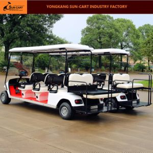 8 Seater Electric Ce Approved Vehicles Electric Golf Cart pictures & photos