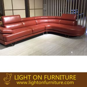 Office Corner Leather Sofa (L069) pictures & photos