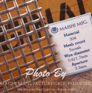 304/316 Stainless Steel Wire Mesh pictures & photos