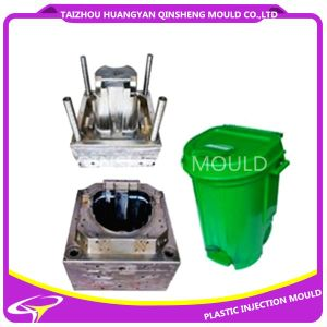 Plastic Injection Outdoor Large Garbage Bin Mold pictures & photos