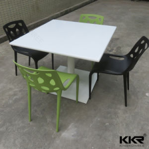 Customized Solid Surface Food Court Restaurant Table pictures & photos