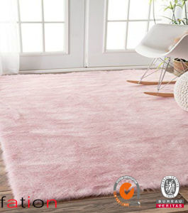 Sweet Home Fluffy Plain Shaggy Carpet Bedroom Area Rug pictures & photos