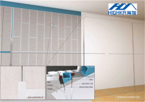 Cement Fiber Design Decorative Board Wall Partitions Materials 9mm pictures & photos