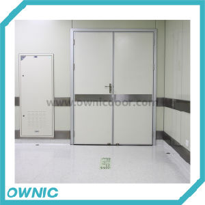 Manual Swing Door Double Open for Corridors, Operation Rooms pictures & photos