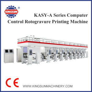 KASY-A Series Computer Control High Speed Rotogravure Printing Machine pictures & photos